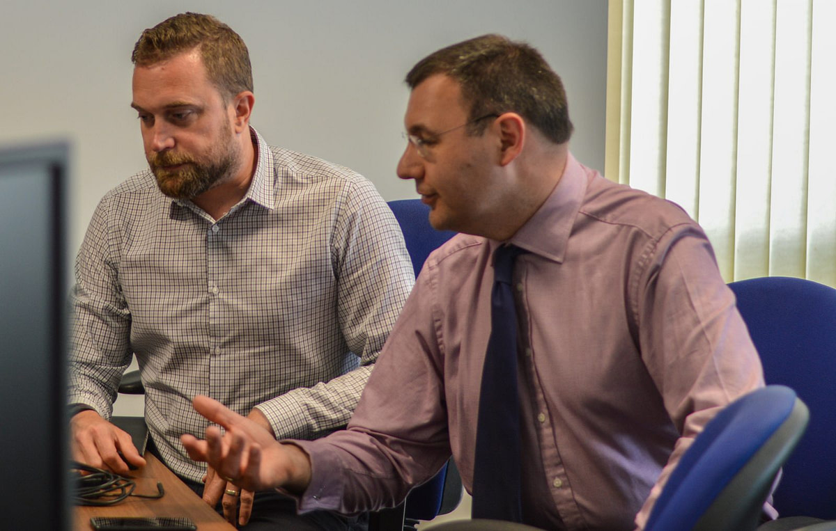 Working together at Boldfield Computing IT Support