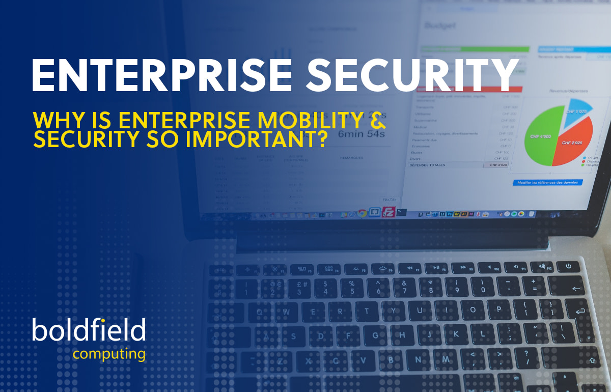 Why is Enterprise Mobility & Security so important?
